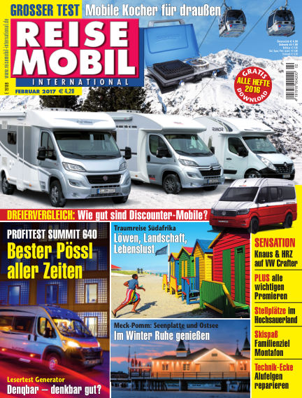 Reisemobil International January 07, 2017 00:00
