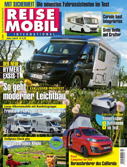 Reisemobil International June 03, 2017 00:00