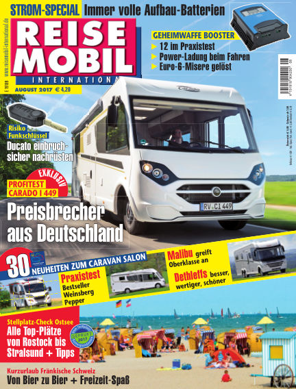 Reisemobil International July 08, 2017 00:00