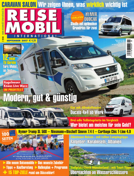 Reisemobil International August 05, 2017 00:00