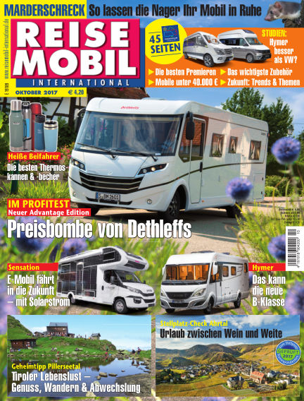 Reisemobil International September 09, 2017 00:00
