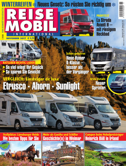 Reisemobil International October 07, 2017 00:00