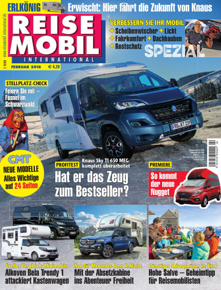 Reisemobil International January 05, 2018 00:00