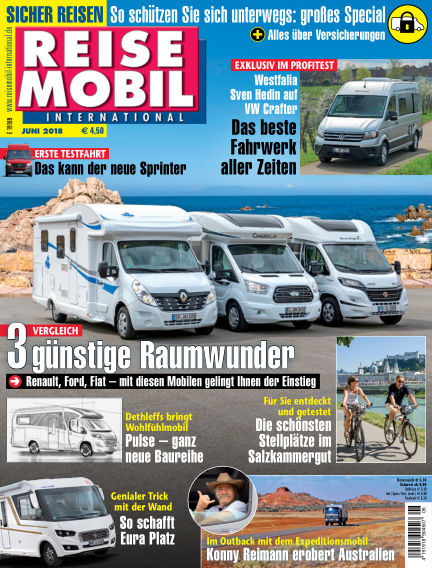 Reisemobil International May 04, 2018 00:00