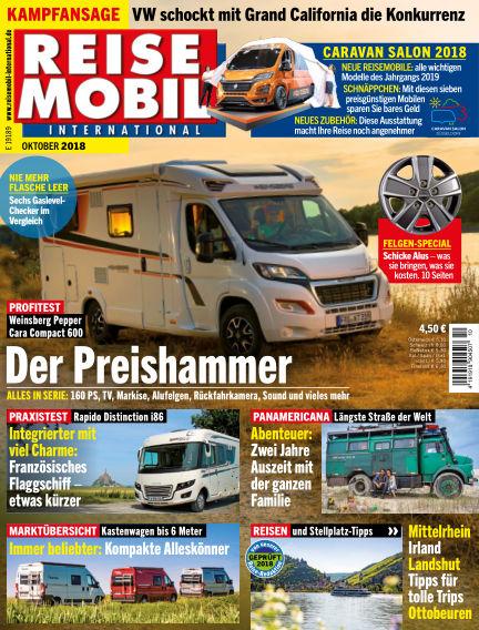 Reisemobil International September 07, 2018 00:00