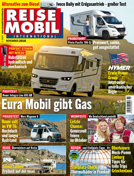 Reisemobil International October 05, 2018 00:00