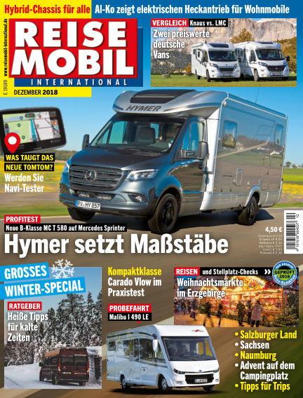 Reisemobil International November 02, 2018 00:00