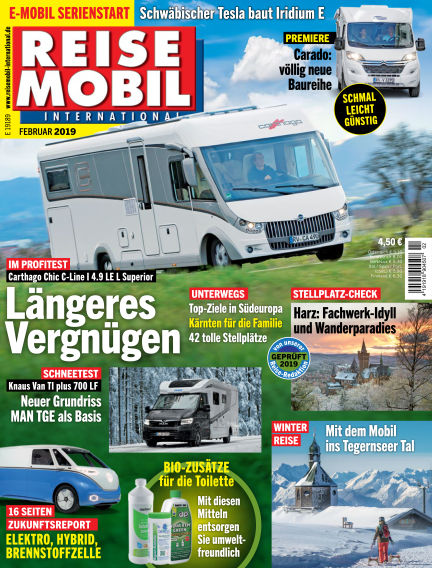 Reisemobil International January 04, 2019 00:00