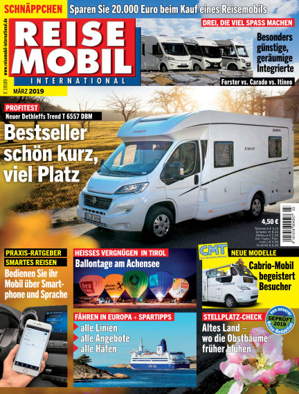 Reisemobil International February 08, 2019 00:00