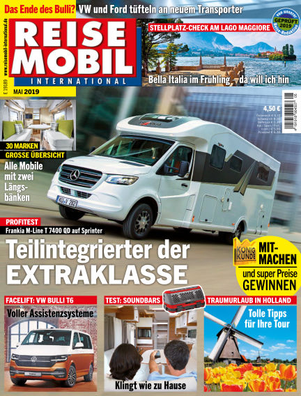 Reisemobil International April 02, 2019 00:00