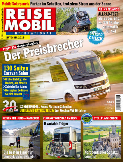 Reisemobil International August 06, 2019 00:00