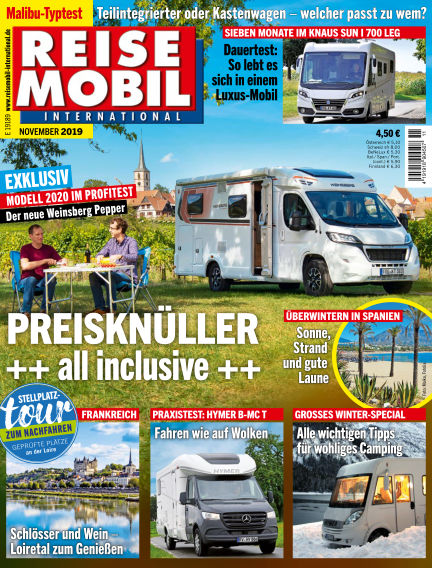 Reisemobil International October 08, 2019 00:00