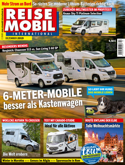 Reisemobil International November 05, 2019 00:00