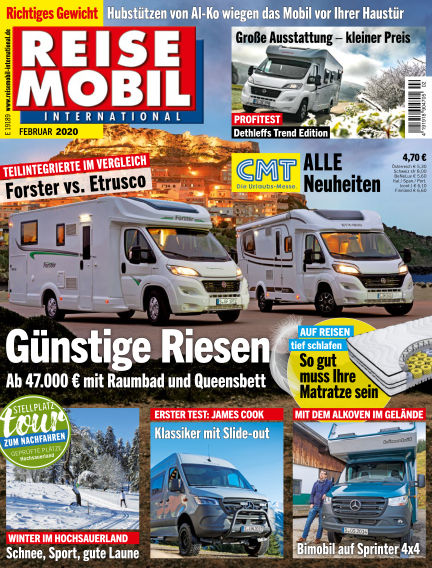 Reisemobil International January 03, 2020 00:00