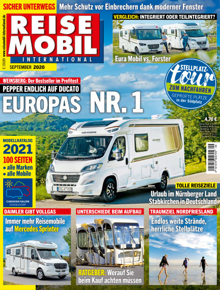 Reisemobil International August 04, 2020 00:00