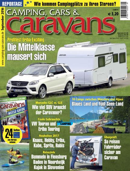 Camping, Cars & Caravans August 16, 2016 00:00