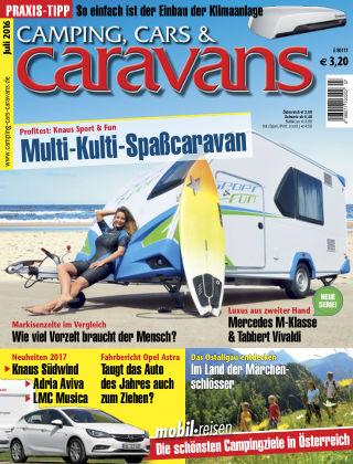 Camping, Cars & Caravans 07_2016