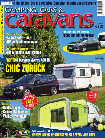 Camping, Cars & Caravans October 18, 2016 00:00