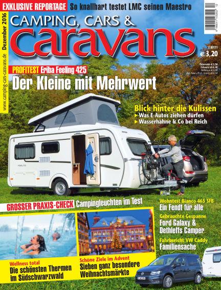 Camping, Cars & Caravans November 16, 2016 00:00
