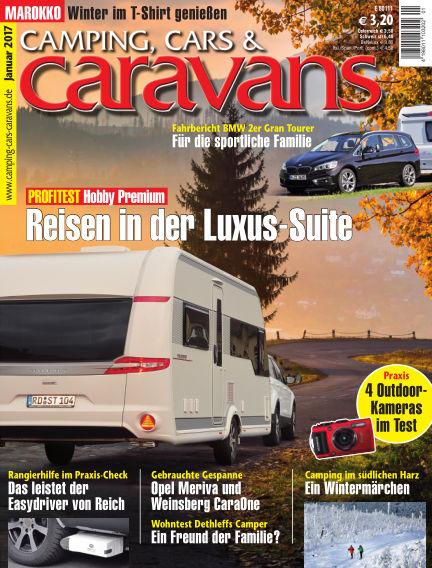 Camping, Cars & Caravans December 13, 2016 00:00