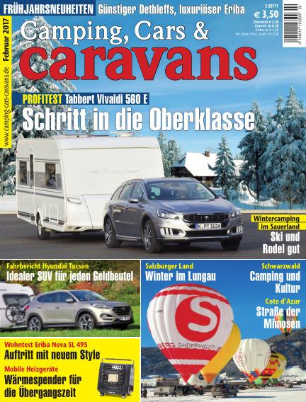 Camping, Cars & Caravans January 14, 2017 00:00