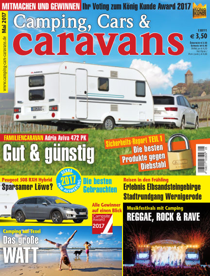 Camping, Cars & Caravans April 15, 2017 00:00