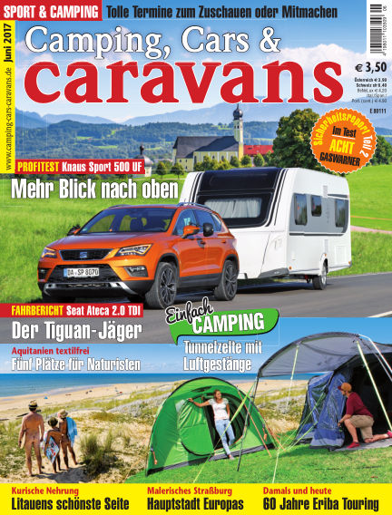 Camping, Cars & Caravans May 13, 2017 00:00