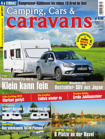 Camping, Cars & Caravans June 10, 2017 00:00