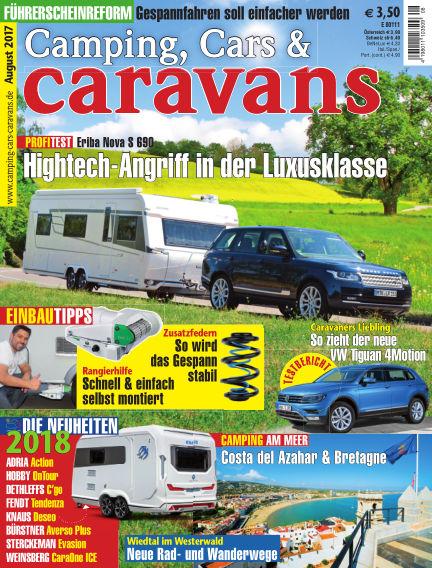 Camping, Cars & Caravans July 15, 2017 00:00