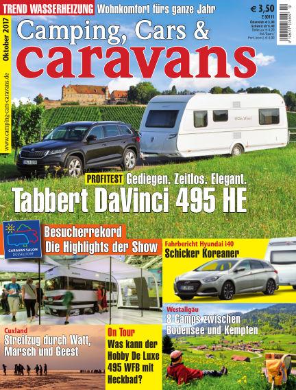 Camping, Cars & Caravans September 16, 2017 00:00