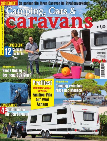 Camping, Cars & Caravans October 14, 2017 00:00