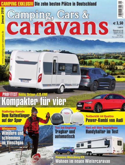 Camping, Cars & Caravans December 09, 2017 00:00