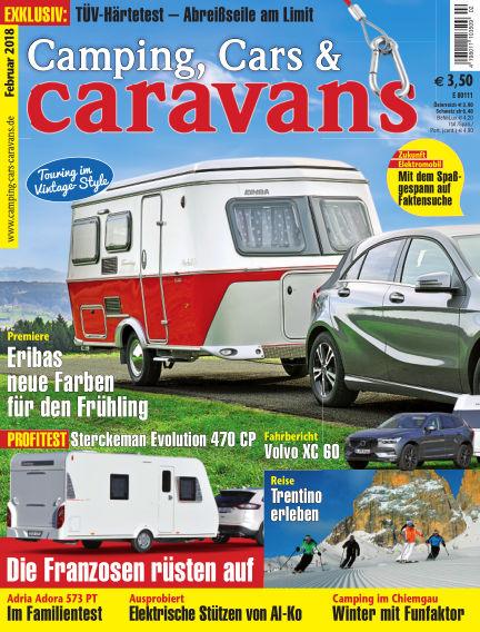 Camping, Cars & Caravans January 12, 2018 00:00