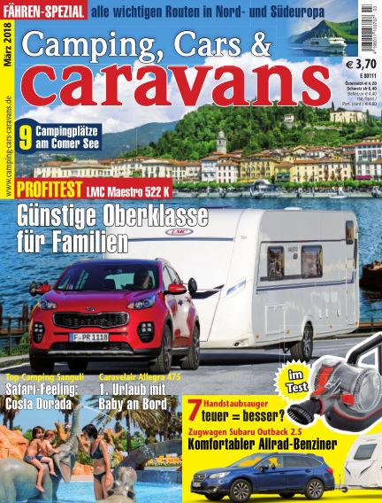 Camping, Cars & Caravans February 09, 2018 00:00
