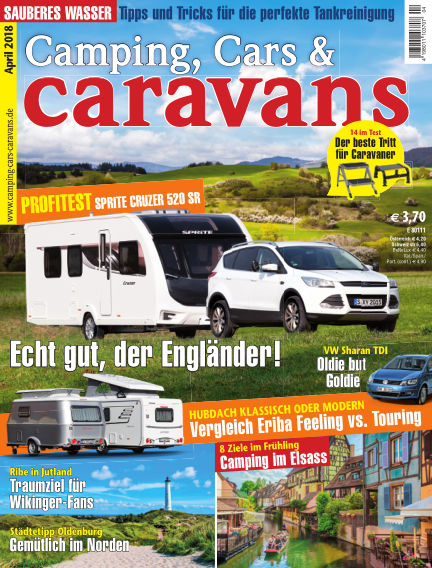Camping, Cars & Caravans March 09, 2018 00:00