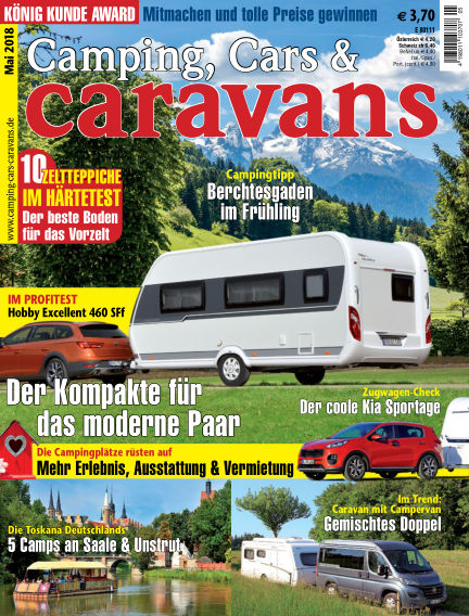 Camping, Cars & Caravans April 13, 2018 00:00