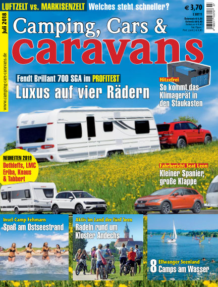 Camping, Cars & Caravans June 08, 2018 00:00