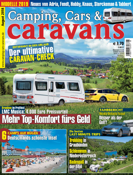 Camping, Cars & Caravans July 10, 2018 00:00
