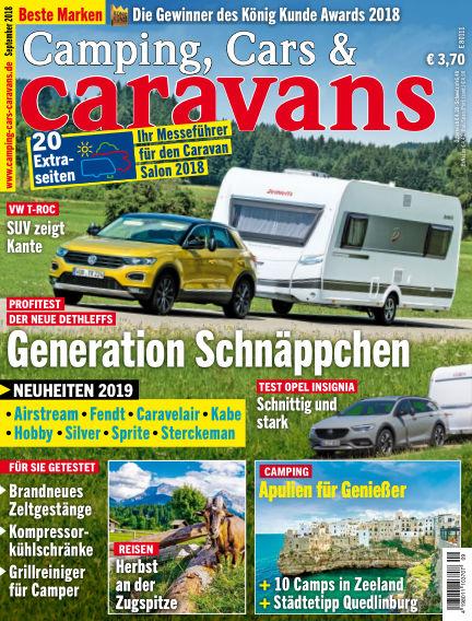 Camping, Cars & Caravans August 14, 2018 00:00