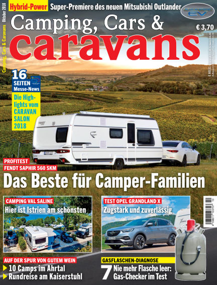 Camping, Cars & Caravans September 14, 2018 00:00