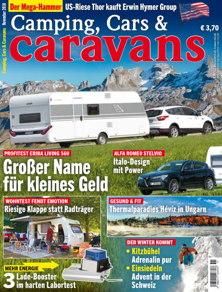 Camping, Cars & Caravans October 12, 2018 00:00