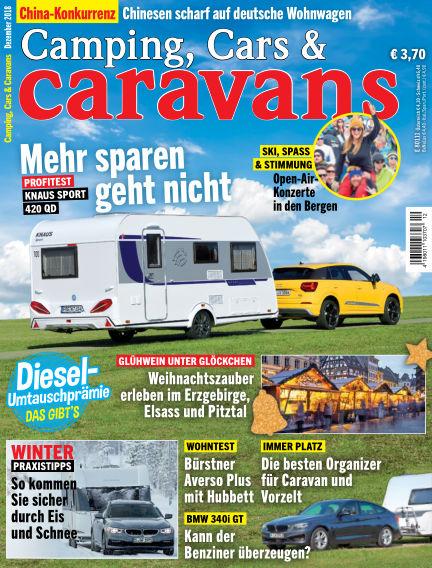 Camping, Cars & Caravans November 09, 2018 00:00