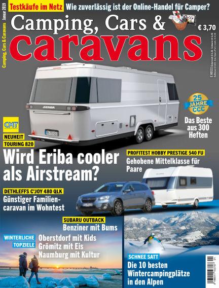 Camping, Cars & Caravans December 07, 2018 00:00