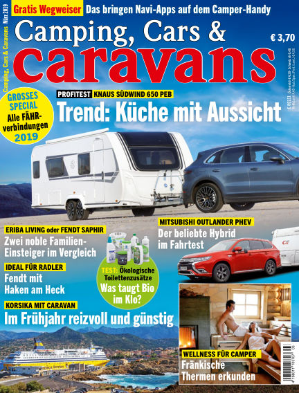 Camping Cars Caravans Subscription Best Offer With Readly