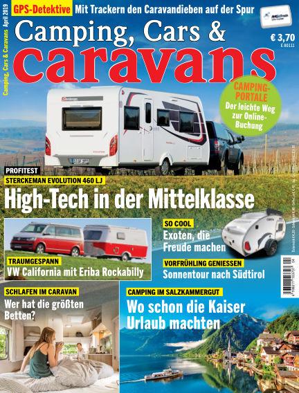 Camping, Cars & Caravans March 12, 2019 00:00