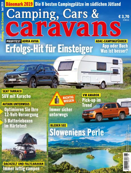 Camping, Cars & Caravans May 10, 2019 00:00