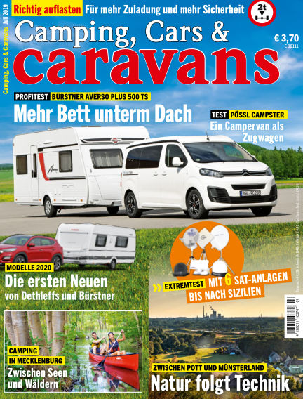 Camping, Cars & Caravans June 11, 2019 00:00