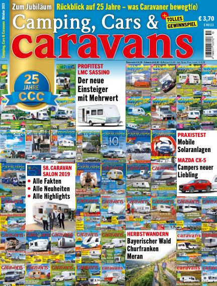 Camping, Cars & Caravans September 20, 2019 00:00