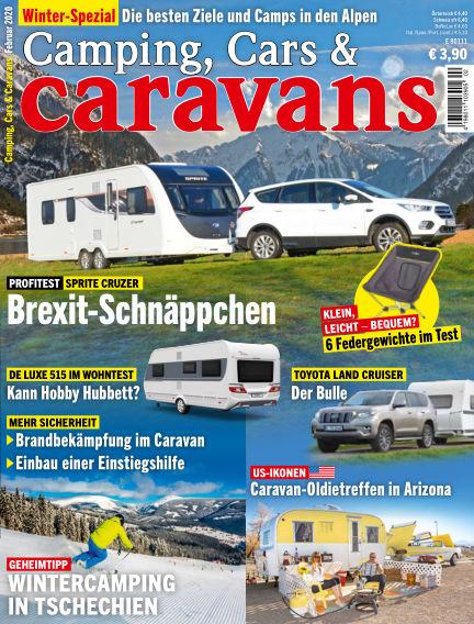 Camping, Cars & Caravans January 10, 2020 00:00