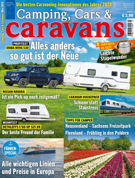 Camping, Cars & Caravans February 11, 2020 00:00